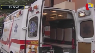 Breña: delincuentes roban desfibrilador a bomberos