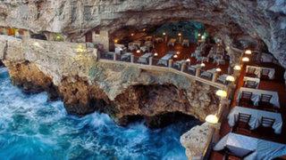 Este restaurante fue construido dentro de una cueva y el resultado te dejará con la boca abierta