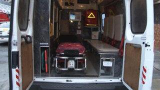 Roban a bomberos de Breña desfibrilador valorado en S/ 25 mil