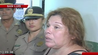 San Luis: mujer justifica agresión a policías y dice que estaba ebria