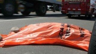 Ica: choque de motocicleta y tráiler deja un muerto en Palpa