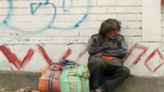 La dura realidad de los indigentes que sufren esquizofrenia