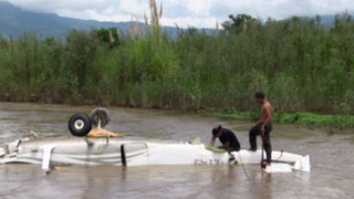 Intervienen avioneta boliviana que trasladaba 90 kilos de droga en el Vraem