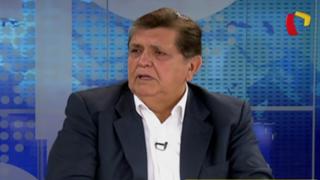 """Alan García sobre caso Bagua: """"Fue un error extender demasiado el diálogo"""""""