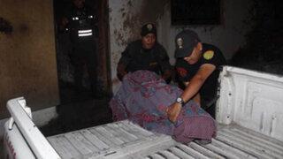 Anciana en silla de ruedas muere calcinada en San Juan de Lurigancho