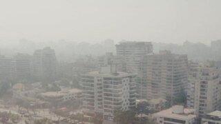 Santiago de Chile se mantiene en alerta por inmensa nube tóxica