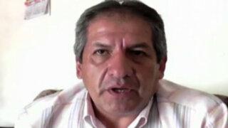 Huanta: hermano de Omar Quesada niega haber lanzado huevo a Acuña