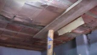 Vecinos denuncian que sus viviendas resultaron dañadas por construcción de túneles