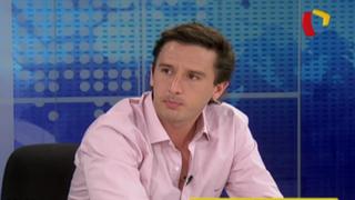 """Garrido Lecca sobre Alan García:""""Forma de hacer política ha quedado poco desfasada"""""""