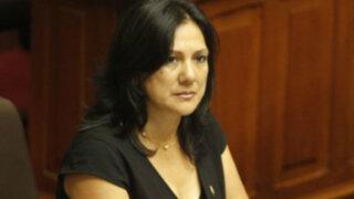 Sentencian a cinco años de prisión a congresista María López Córdova