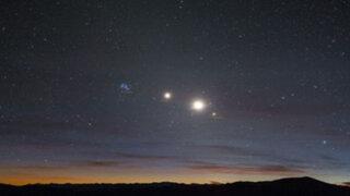 Cinco planetas estarán alineados desde hoy y se podrán ver a simple vista