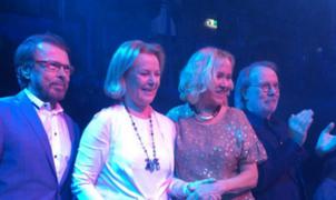 Artistas que integraron ABBA se vuelven a reunir en Suecia