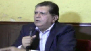 Arequipa: Alan García asegura que minería es importante pero sin sacrificar agricultura