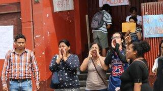 Estudiantes no descartan volver a tomar universidad Federico Villarreal