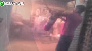 Boulevard de Asia: empleados grabaron inicio de voraz incendio en supermercado