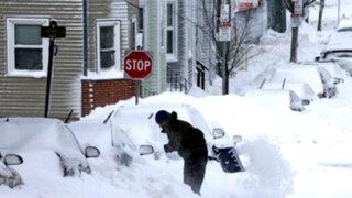 Estados Unidos: autoridades en alerta por gran tormenta de nieve