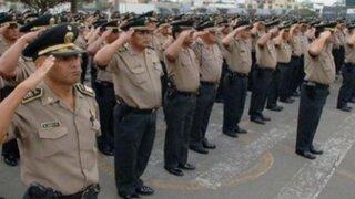 Reforma de sueldos de la PNP muestra considerable aumento