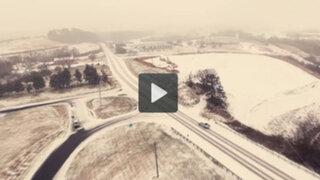 Nevada 'Jonas': video grabado por un drone muestra la magnitud de la tormenta