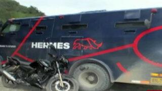 Jaén: en gran golpe se llevan 300 mil soles de camión de caudales