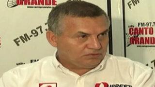 Daniel Urresti arremete con casos de Heriberto Benítez y 'Zumba'