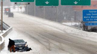 EEUU: 11 estados declarados en emergencia por supertormenta 'Jonas'