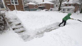 EEUU: inician trabajos de limpieza tras paso de tormenta 'Jonas'