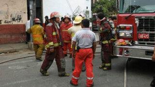 Centro de Lima: incendio en antiguo solar dejó dos familias afectadas