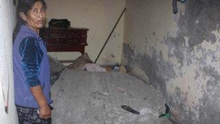 Rímac: pared cae sobre pareja de esposos mientras dormían