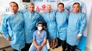 Médicos peruanos salvan a vida a joven tras realizarle trasplante de corazón y riñón
