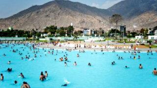 Un fin de semana en la piscina más grande del Perú