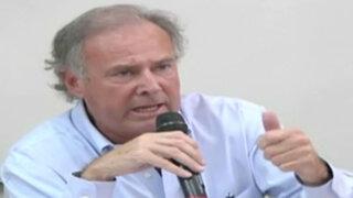Alfredo Barnechea y sus propuestas para combatir la corrupción