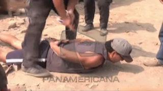 Carabayllo: caen traficantes de terrenos en gran operativo policial