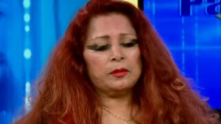 Monique Pardo se quiebra en vivo por muerte de Alex Otiniano