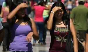 Distritos de Lima soportaron sensación de calor de hasta 33 grados
