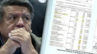 César Acuña: cuestionan su título de ingeniero químico