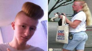 FOTOS: 10 personas que fracasaron al intentar tener un corte de cabello genial