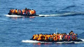 Grecia: rescatan a decenas de refugiados en el mar Egeo