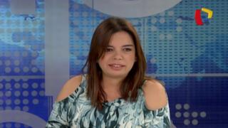 """Milagros Leiva: """"Hay doble moral en algunos candidatos"""""""
