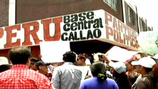 Féretro de vigilante fue trasladado a sede de partido político para exigir justicia