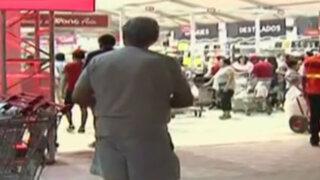 Reabren supermercado tras incendio en boulevard de Asia