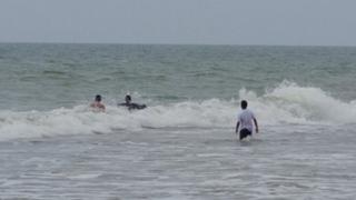 Pescador encuentra cuerpo de joven ahogado en playa de Huacho