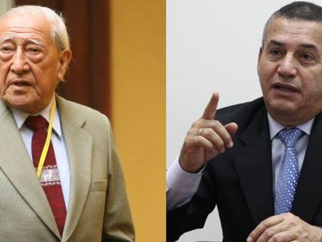 Isacc Humala saluda candidatura presidencial de Daniel Urresti