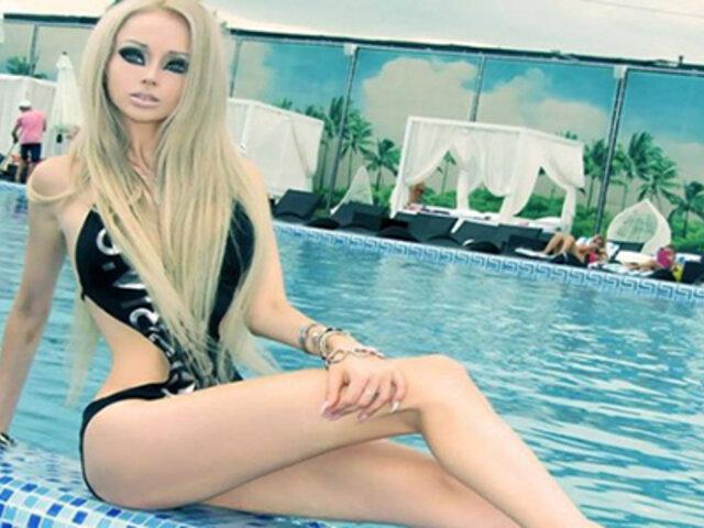 FOTOS: así lucía la 'Barbie humana' antes de sus múltiples cirugías estéticas