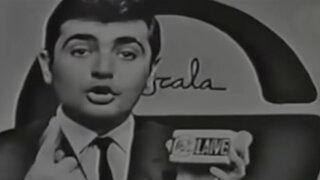 Así eran los comerciales de TV en la década de los 60
