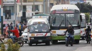 Gobierno publicará mañana decreto de subsidio a transportistas