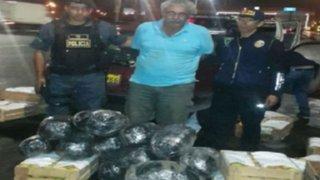 Punta Negra: cae sujeto con 20 kilos de marihuana camuflada en cajas de mango