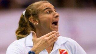 Bloque deportivo: Natalia Málaga tuvo altercado con una de sus jugadoras