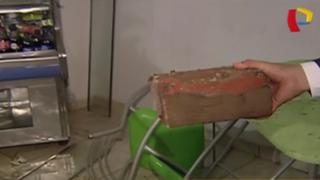 Ate: vandalismo durante partido de la 'U' en Noche Crema'