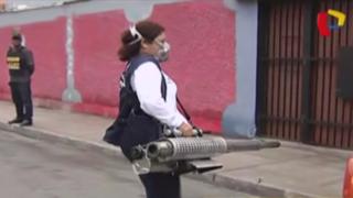 Callao: fumigan calles chalacas por virus Zika