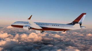 FOTOS: conoce la imponente aeronave que busca ser el jet privado más lujoso del mundo